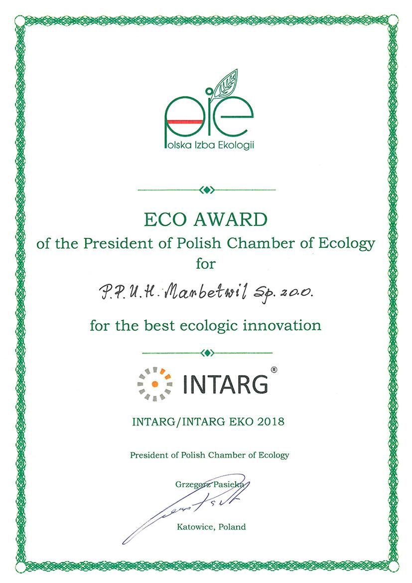 Eco Award Polska Izba Ekologii