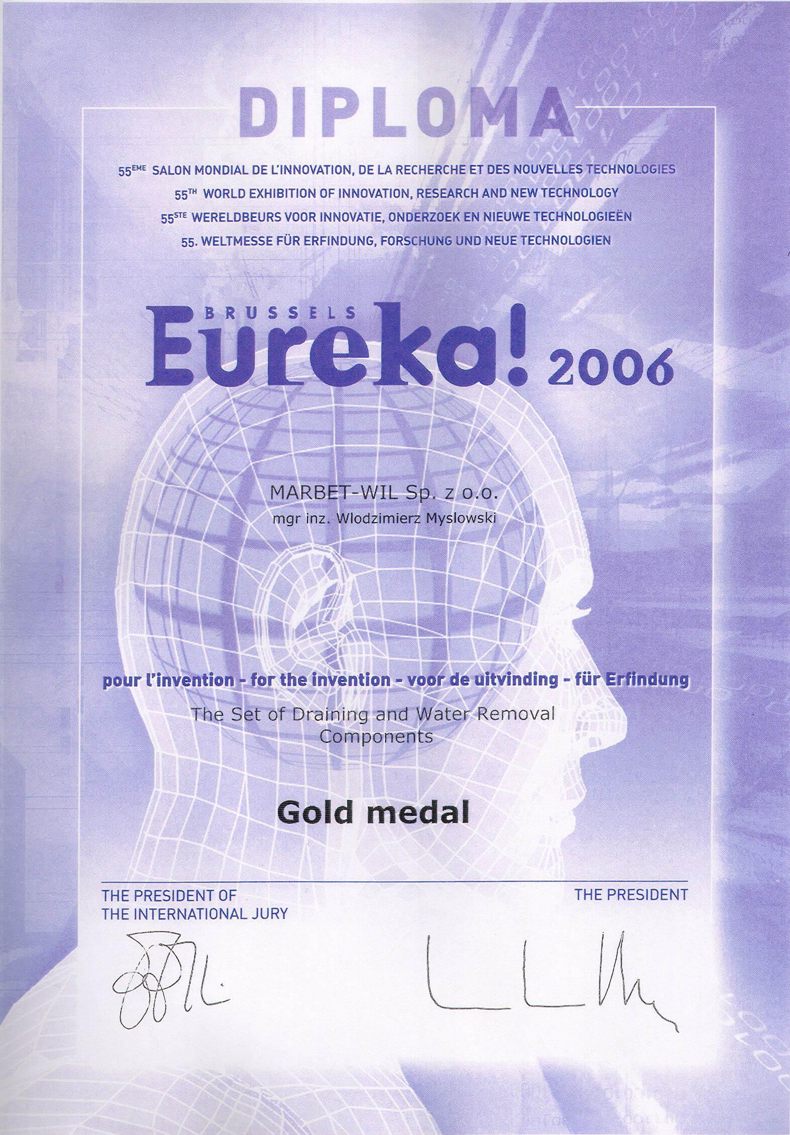 Eureka 2006 Gold Medal - Suldren-01